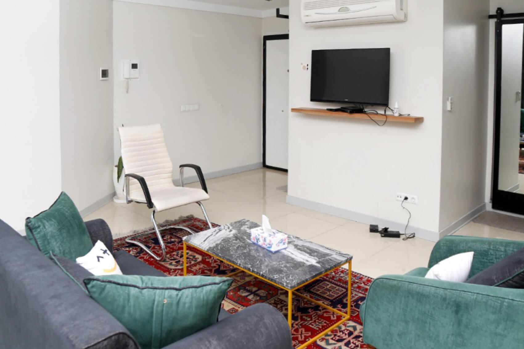 آپارتمان مبله ی یکخواب خوب تهرانپارس