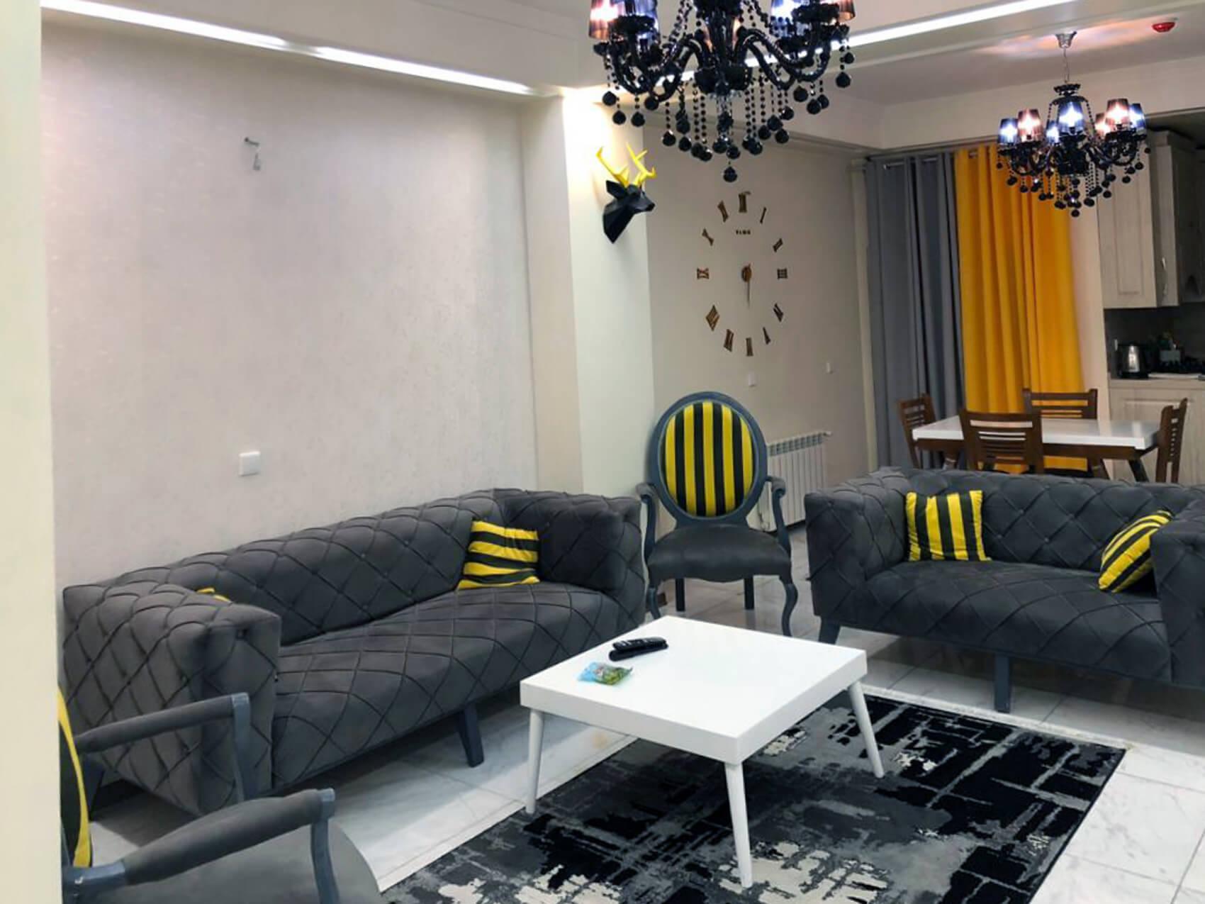 آپارتمان مبله ی دو خواب نوساز شریعتی