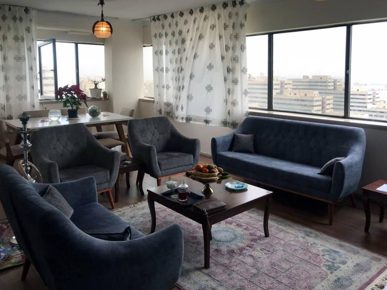 آپارتمان مبله یکخواب کامل در اکباتان