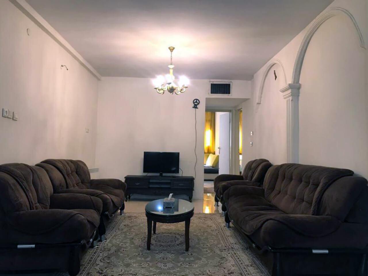 آپارتمان مبله ی دو خوابه در فاطمی