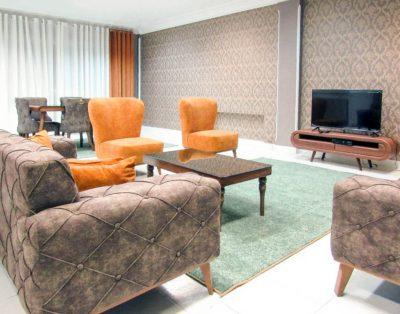 آپارتمان مبله ی دو خواب در خیابان ملاصدرا ، ونک